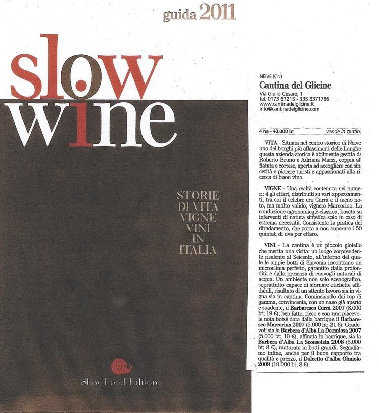 Slwo Wine.