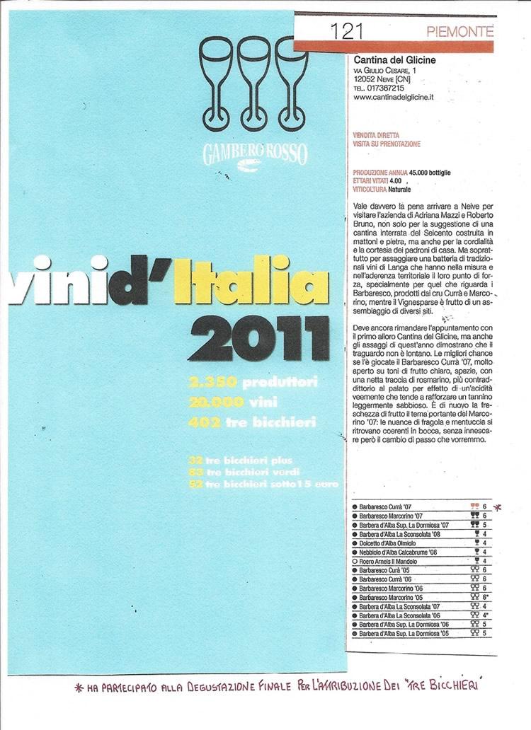 Vini d'Italia 2011.