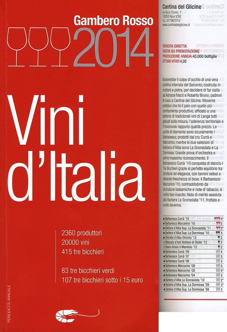 Vini d'Italia Gambero Rosso.