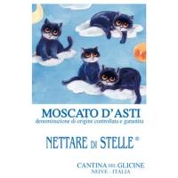 Moscato d'Asti D.O.C.G. Nettare di Stelle® Etichetta in versione estiva.